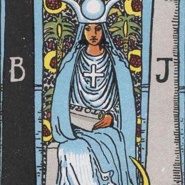 Tarot Card - High Priestess