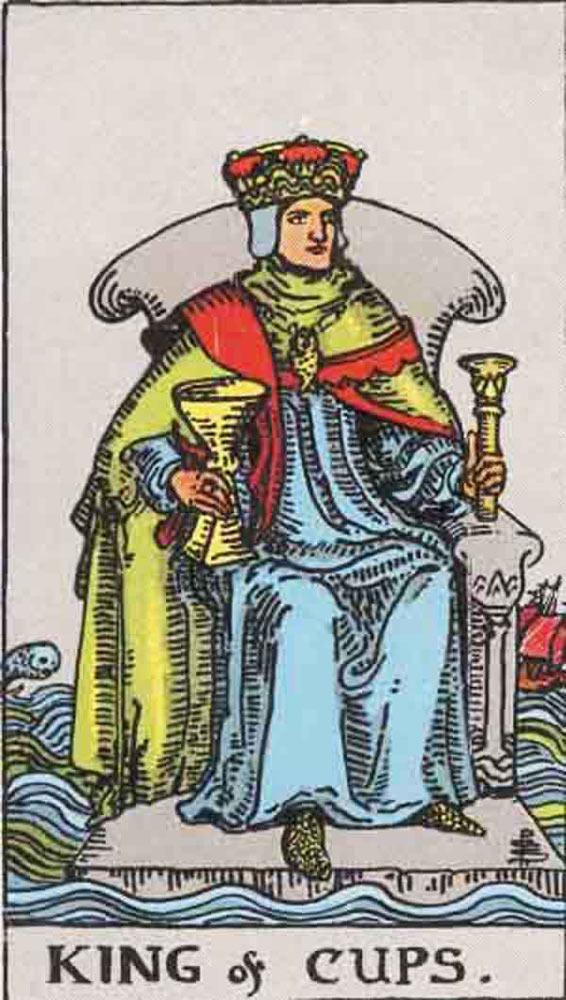 King of Cups tarot card
