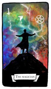 The Magician tarot card